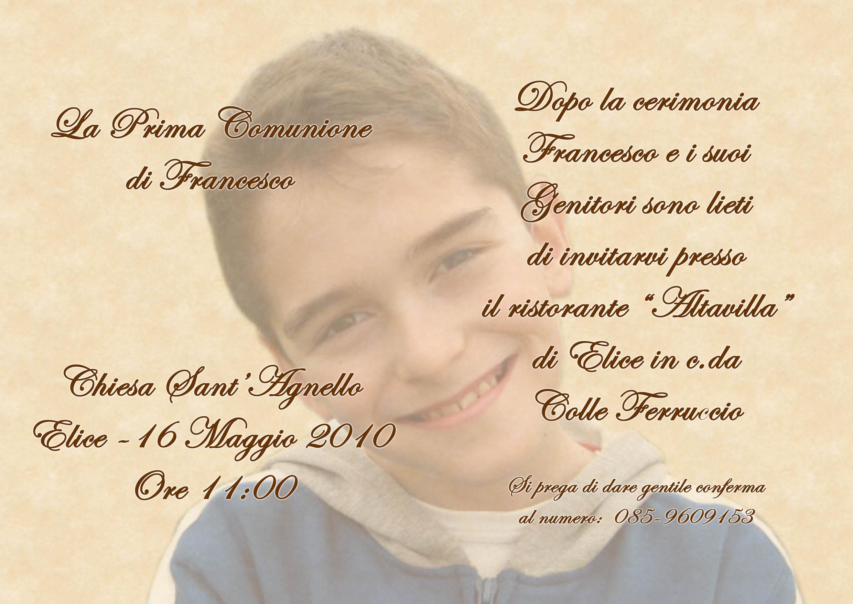 Inviti E Partecipazioni Foto Antonio